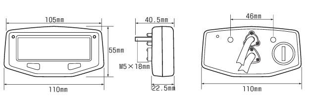 Acewell - Acewell Speedometers - ACE-1 - ACE-1550 Speed ... on