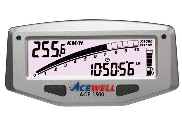 Acewell - Acewell Speedometers - ACE-1xxx - ACE-1500 Speed, RPM, fuel    Digi dash   Digital Speedomter   Motorcycle ComputerAcewell